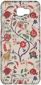 حافظة هاتف سامسونج J5 برايم مطبوع عليها زرافة سينغال من مامريسي بايال