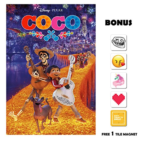 Coco  - Fireworks - 13 in x 19 in Movie Poster Flyer BORDERL