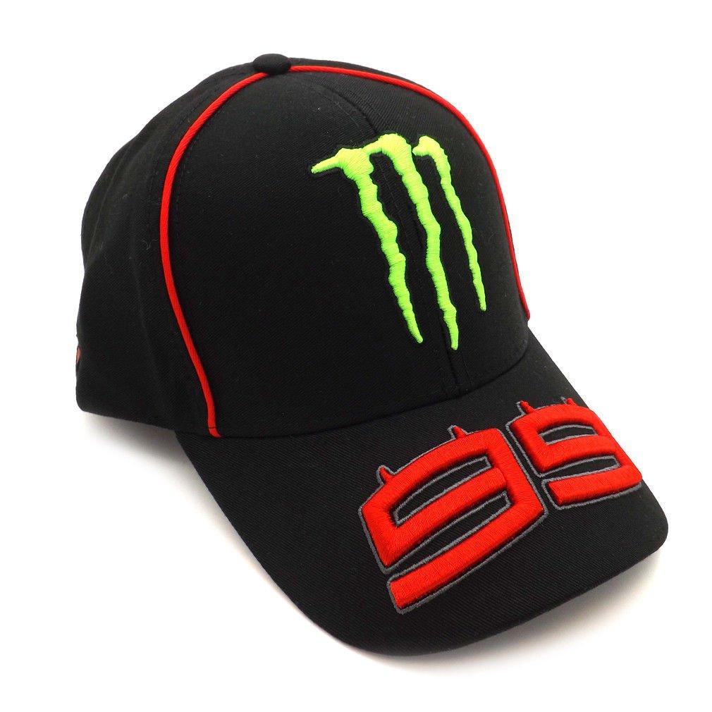 3d218165 2018 Jorge Lorenzo 99 Monster MotoGP Mens Black Baseball Cap Trucker Hat  Adult: Amazon.co.uk: Sports & Outdoors