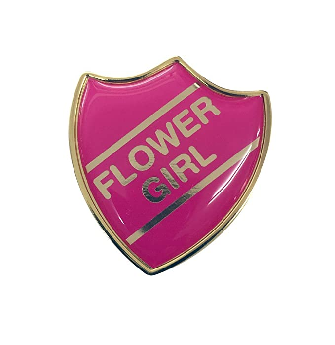 Maid of Honour Gel Domed School Shield Wedding Badge