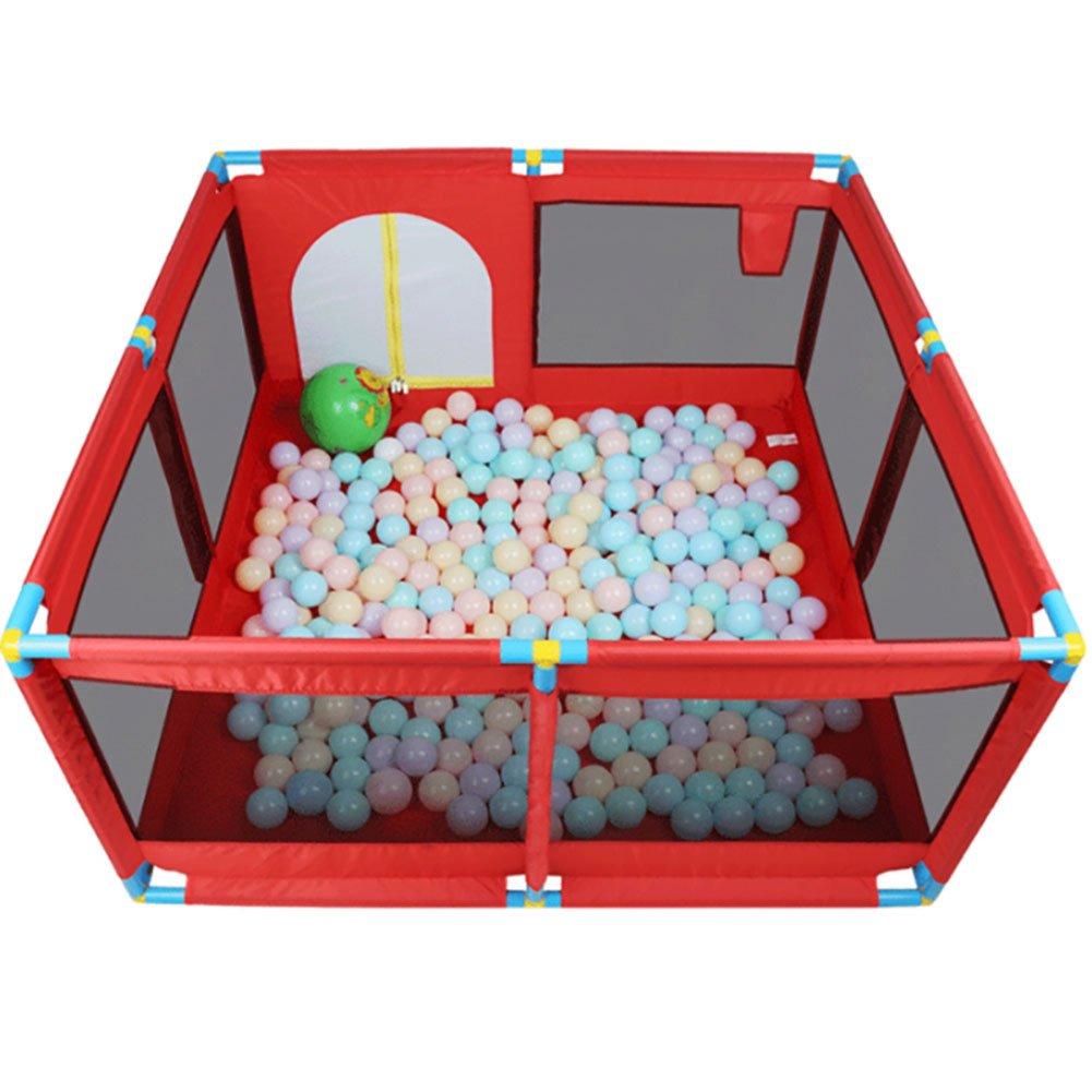 完成品 WSSF- 赤いABSプラスチック製の子供のプレイペンガードレールの幼児クロールマットボールプール玩具プレイヤード屋内屋外のホームベビーセーフティゲームフェンス Style - 高さ66cm (色 (色 : Style 2 2) Style 2 B07F2NV2XP, 勝山町:904416a8 --- a0267596.xsph.ru