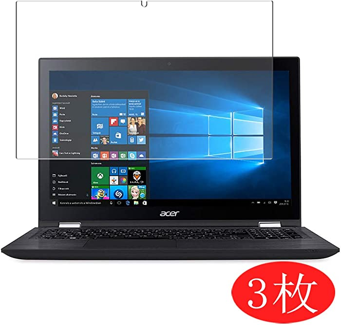 """【3 Pack】 Synvy Screen Protector for Acer Spin 3 SP315-51 15.6"""" TPU Flexible HD Film Protective Protectors [Not Tempered Glass]"""