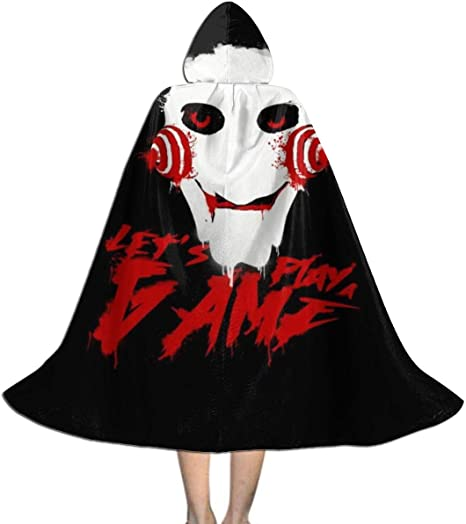 NUJSHF Saw Lets Play A Game Capa con Capucha Unisex para Halloween ...