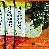 Korea Gwancheon Seaweed Whole Size 20g x 10 packs 광천김