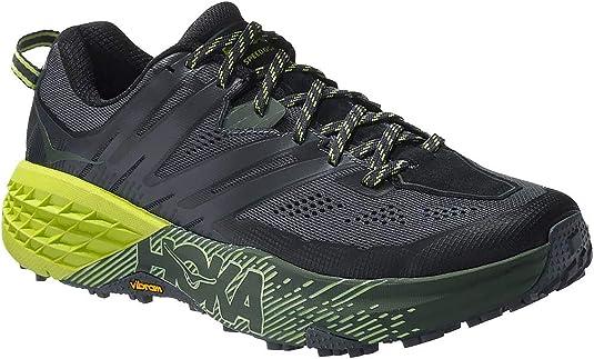 hoka Zapatillas Speedgoat 3 Trail Negro/Verde Talla 46 2/3: Amazon.es: Zapatos y complementos