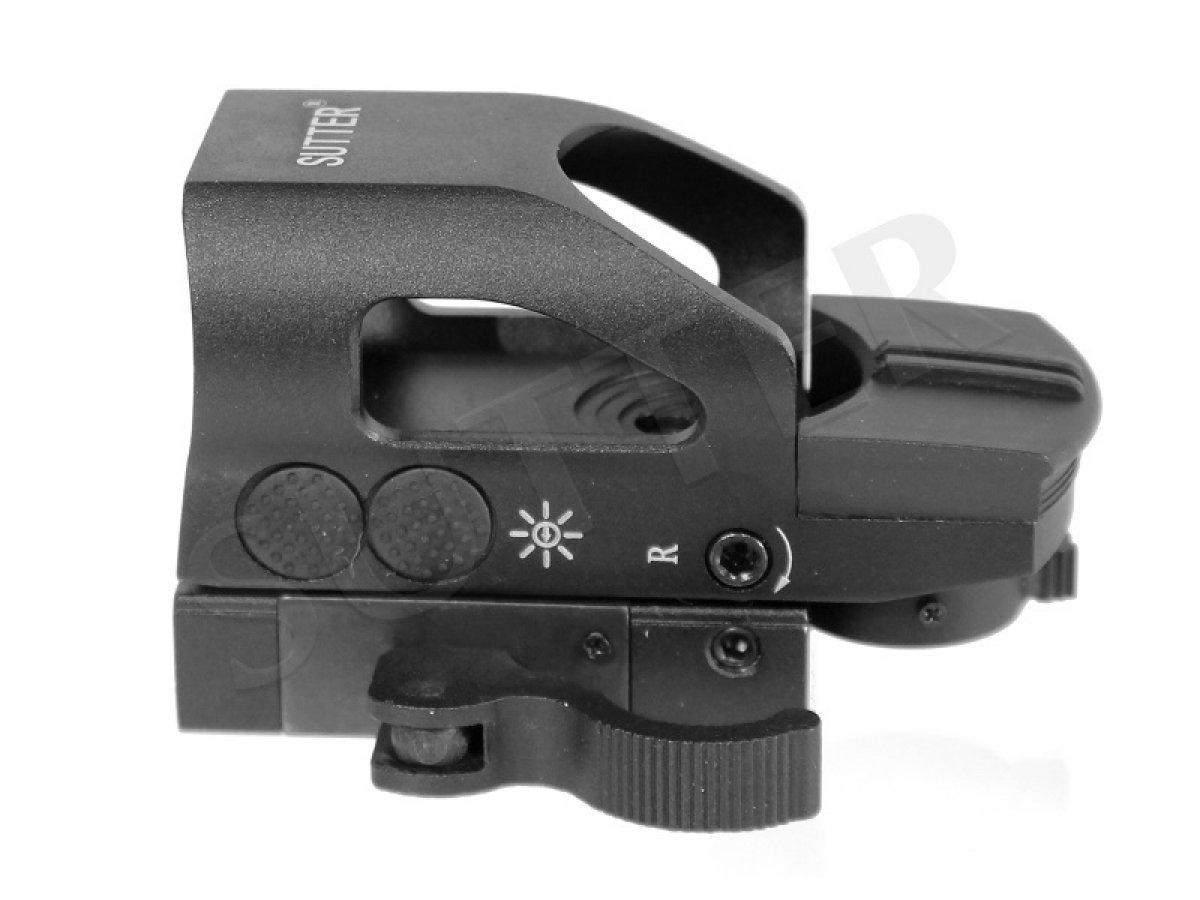 rosso // verde - Mirino punto di selezione luminoso con chiusura a sgancio rapido RedDot Mirino Mirino reflex Mirino di puntamento MultiDot T8