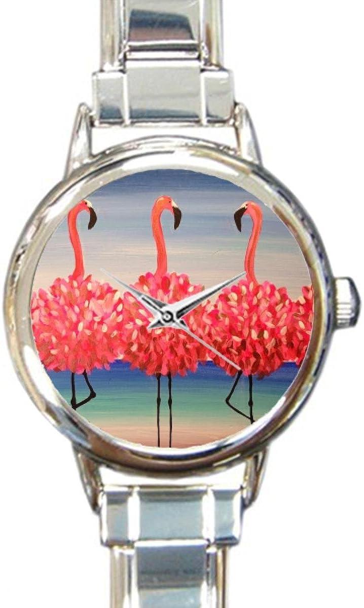 Flamingo Italian Charm