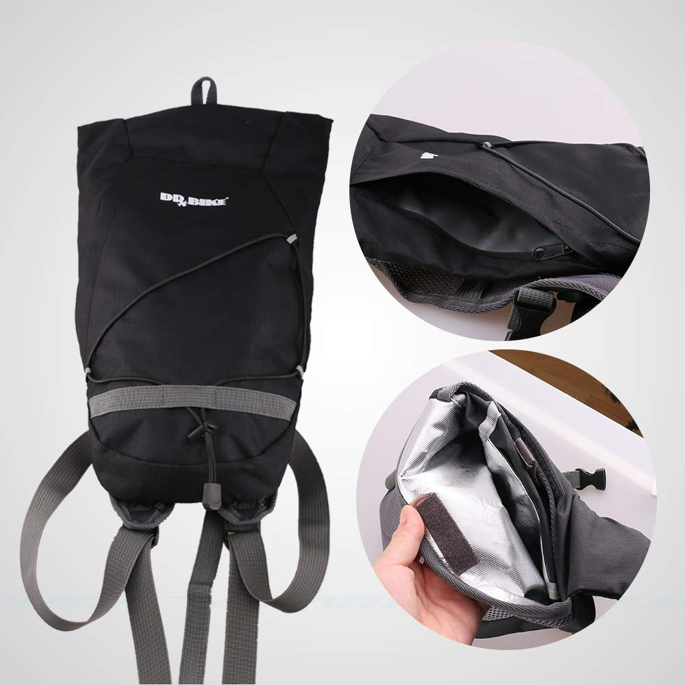 Amazon.com : PAXBEN Bicycle Bags & Panniers - Outdoor Cycling Water Storage Backpack Water Proof Reservoir Baddler Bag with Insulation Layer 1 PCs : Sports ...