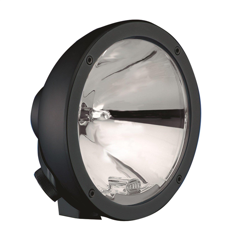 Amazon.com: HELLA 009094181 Rallye 4000 Series 12V/55W Compact Black  Halogen Driving Lamp (includes cover): Automotive