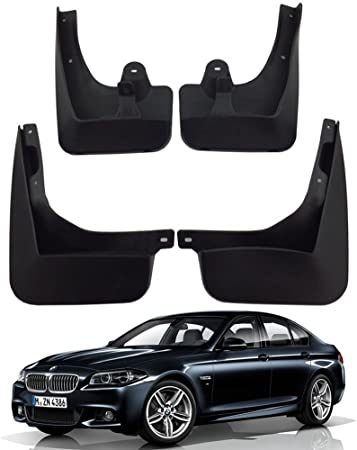 New Genuine BMW 5/' F10 M Sport Front Rear Mud Flaps Splash Guards Set OEM