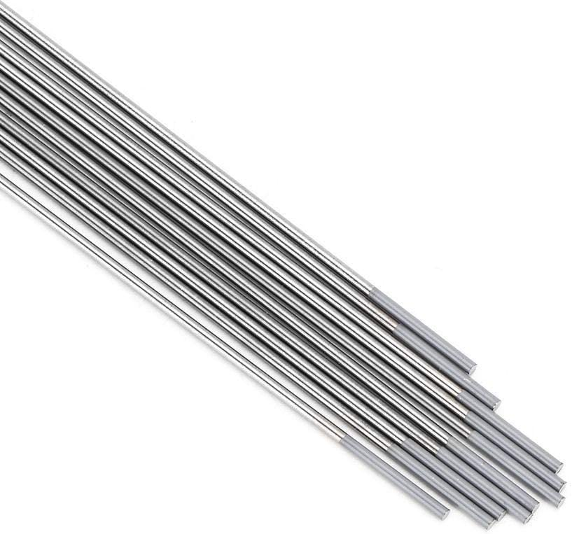 Size : 1.6x150mm 10pcs WC20 Cerium Tungsten Electrode Gray Tip Welding Accessories For DC TIG Welding Machine 1.6 150mm//2.4 150mm Tungsten Electrode
