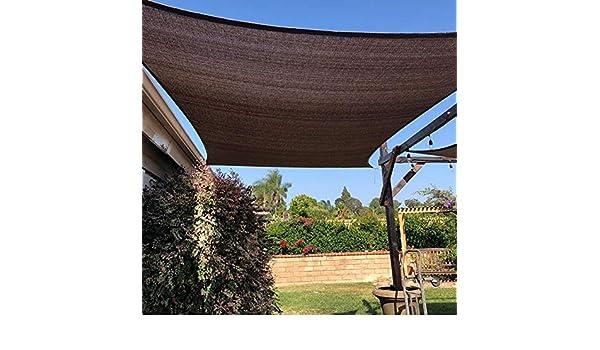 Sombra Solar Malla Patio/Césped/Terraza/Jardín/Pérgola Cubierta De ...