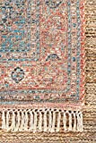 nuLOOM Andrea Flatweave Jute Rug, 4' x 6', Multi