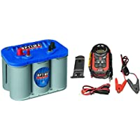 $289 » Optima Batteries 8016-103 D34M BlueTop Starting and Deep Cycle Marine Battery + Digital…