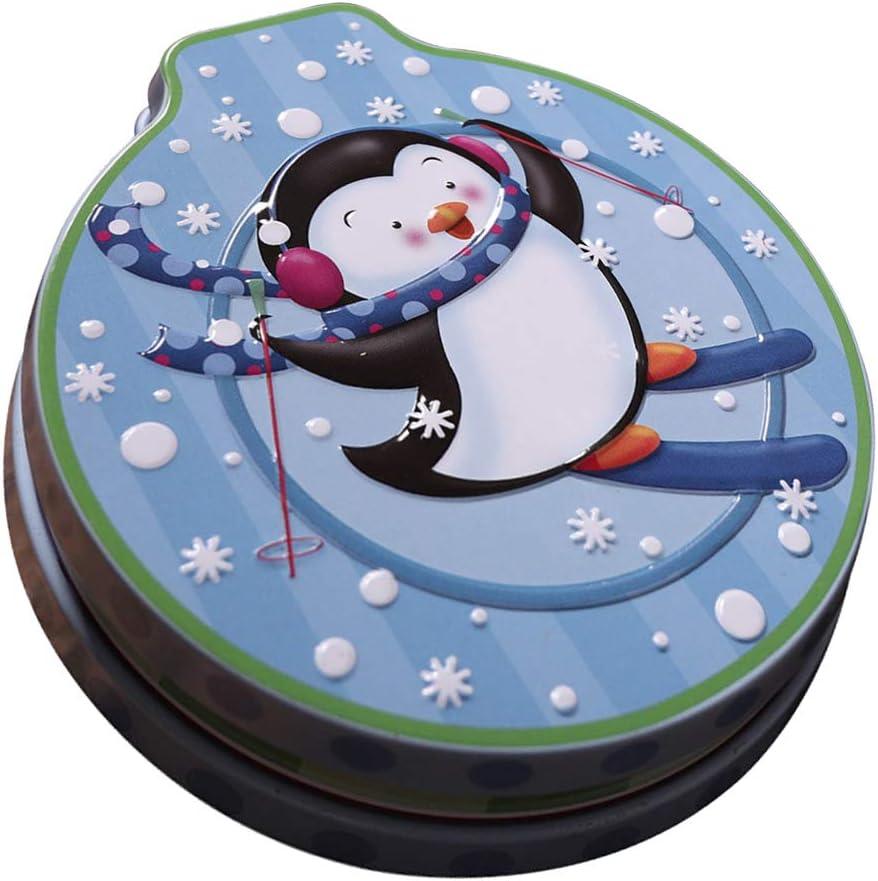 Recipiente de Alimentos Caramelos Galletas para Navidad, Caja de Regalo para Niños - 5