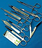 5 Blades No 20 Plus ADSON Forceps Webster Needle