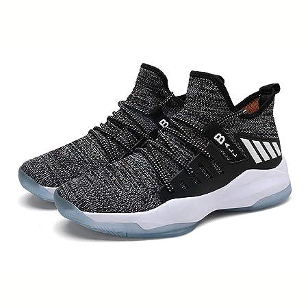 SSCJ Zapatillas de Baloncesto Zapatillas Altas de Moda para ...