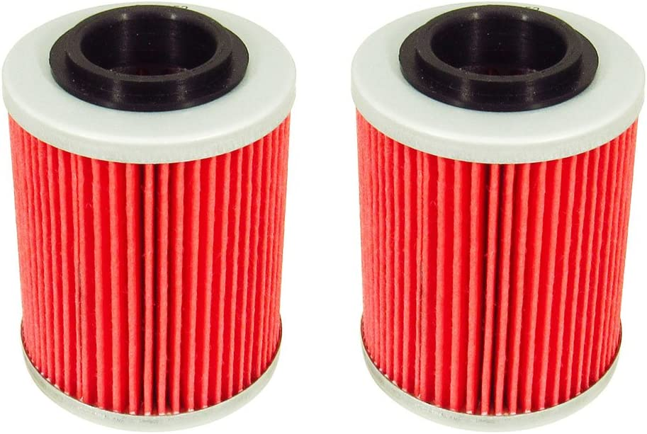 Outlaw Racing ORF152 Lot of 4 Performance Oil Filter BOMBARDIER DS650 X CAN-AM OUTLANDER MAX 650 EFI ATVs APRILIA SL1000 FALCO Street Bikes Replaces KN152