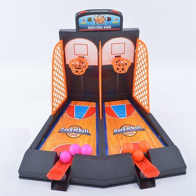 Juguetes de Mesa Diversión Familiar Mini Baloncesto Disparar los ...