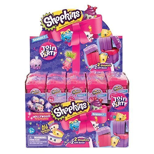 Shopkins Season 7 2-Pack Mystery Gift Boxes - Case of 30