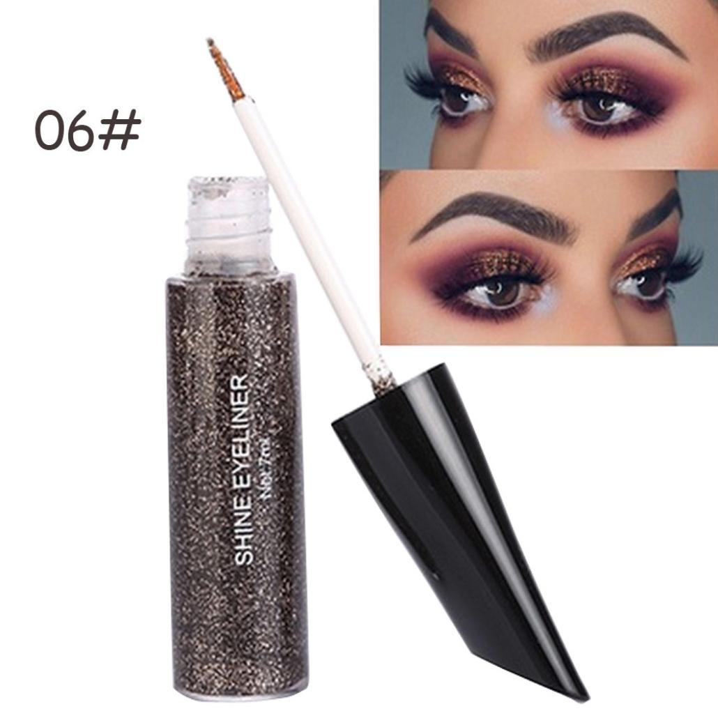 SMILEQ Eyeshadow Powder Liquid Eyeliner Long Lasting Shadow Makeup 15ML