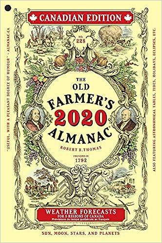 The Old Farmer's Almanac 2020 Canadian Edition: Old Farmer's