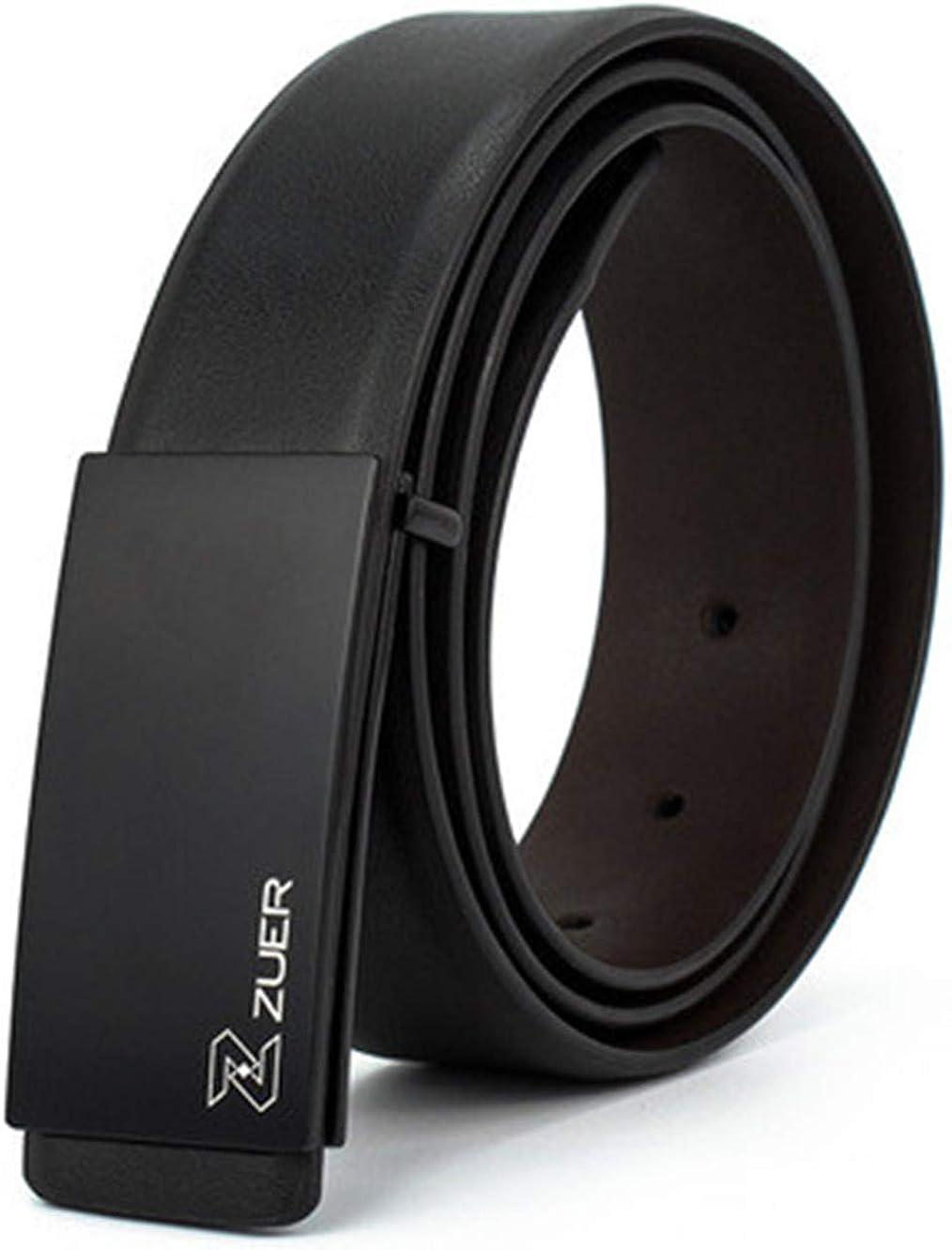 Mens Business Korean Leather Belt