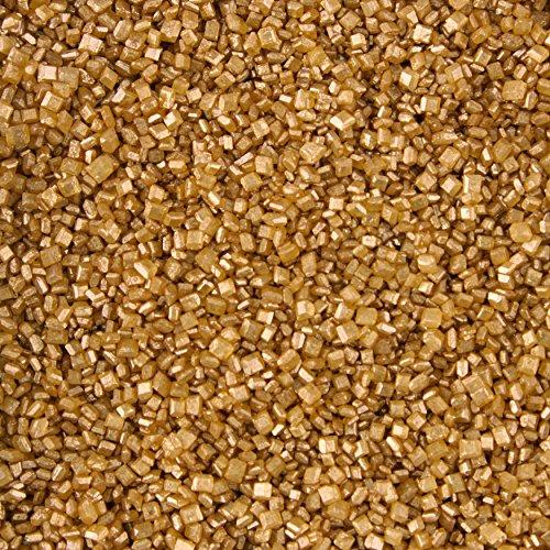 Wilton Gold Pearlized Sugar Sprinkles 525 oz