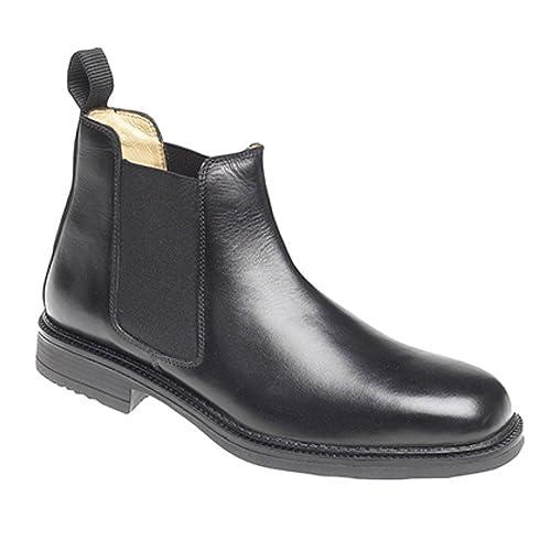 6eb9b90c4c218 Men's Black Chelsea Boots: Amazon.co.uk