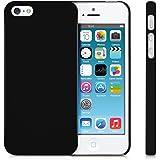 Ewent Cover iPhone SE / 5s / 5 Nera Ultra sottile 0.3mm,Protezione contro urti, cadute e polvere