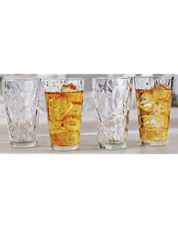 cc15dbba284 Circleware 40156 Cabrini Set of 10 Highball Tumbler Drinking Glasses  Glassware Beverage Ice Tea Cups for