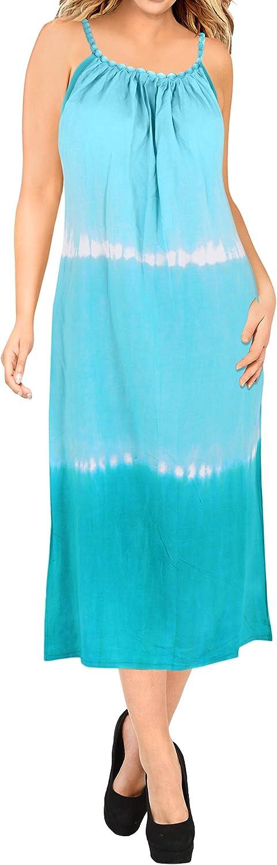 LA LEELA Playa de la Libertad de rayón Tie-Dye de la Mujer Encubrir td119