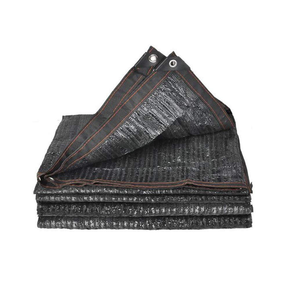 XIAOLIN ブラックシェードセイル95%シェーディングネットレート屋外断熱材ホームサンネットシェードメッシュUVプロテクション (サイズ さいず : 5x8m) 5x8m  B07Q12TC6S