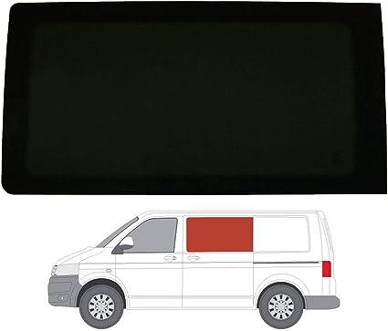 Mano izquierda, tintado oscuro fijo ventana para VW Transporter T5 (03 – 15) puerta corredera: Amazon.es: Coche y moto