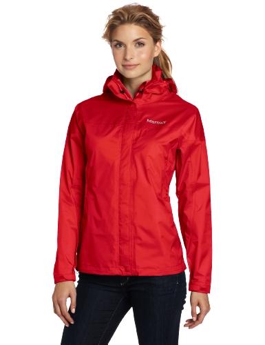 Marmot Women's Precip Jacket, Team Red, X-Large