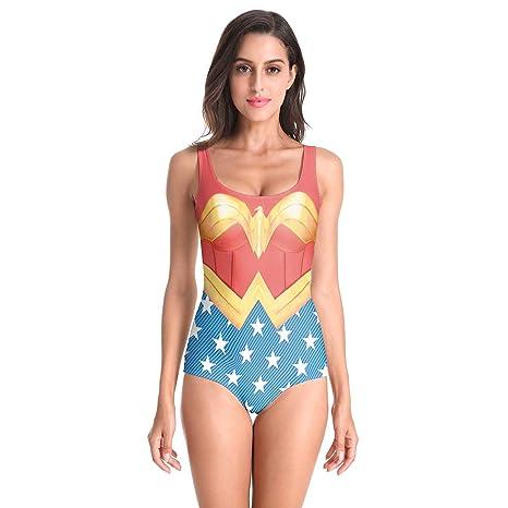 lo último e3291 cb730 QQWE Ropa de Disfraces de Mujer Mujer Maravilla Cosplay ...