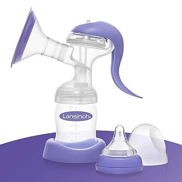 sanftes und effektives Abpumpen in Handmilchpumpe MuttermilchBrust Milch Pumpe