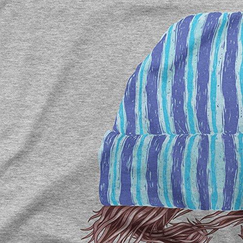 Lumberjack Beard And Beanie To Rule Them All Femme T-shirt