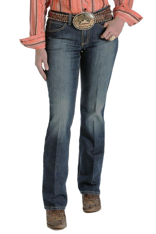 Cruel Girl Western Jean Women Vista Bootcut 13 XX-Long Dark CB50054006