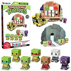 Amazon.com: Funko teenage mutant ninja turtles Papercraft ...