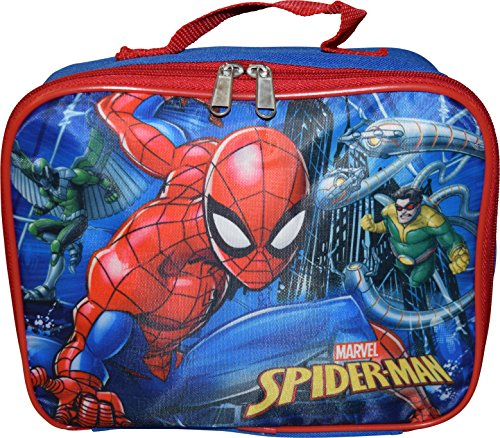 Marvel Spiderman Insulated Lunch Box]()