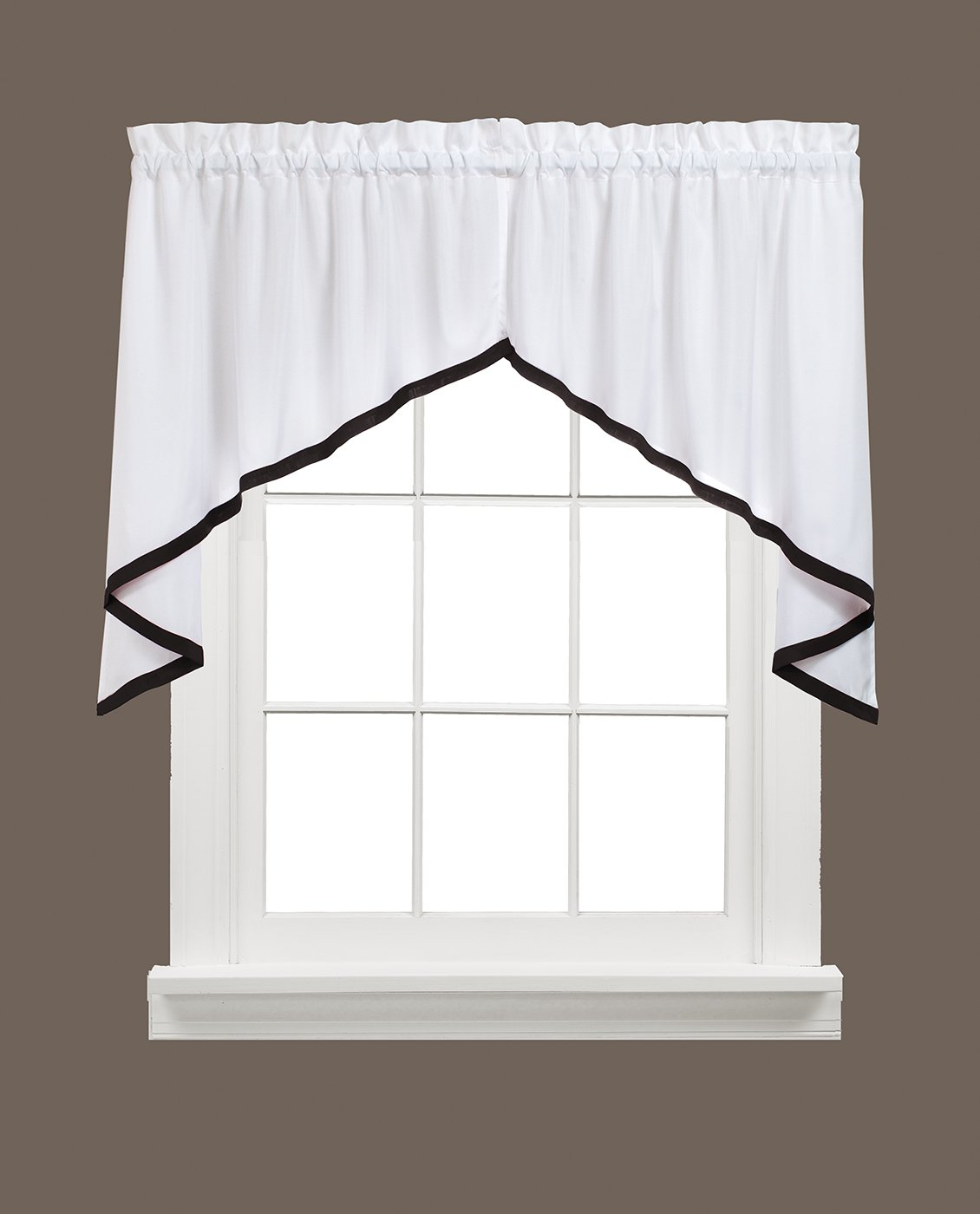 Kate Valance 58 inches x 13 inches M7007000013V09 SKL Home by Saturday Knight Ltd Black