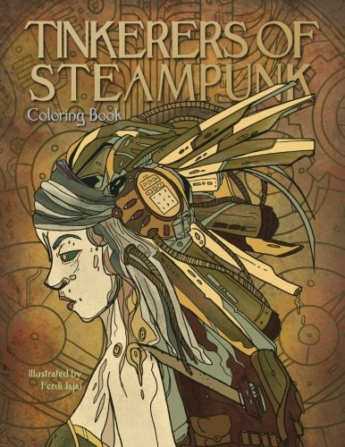 Tinkerers of Steampunk - Coloring Book: Portraits of a Time Full of Technology and Wonder (Adult Coloring) 3