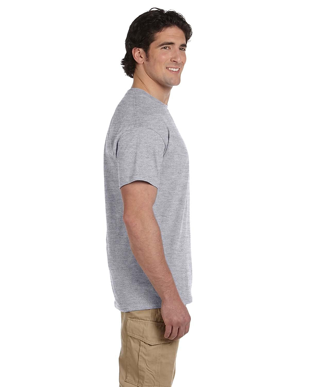 Pack of 3 Fruit of the Loom Mens Seamless Lightweight T-Shirt