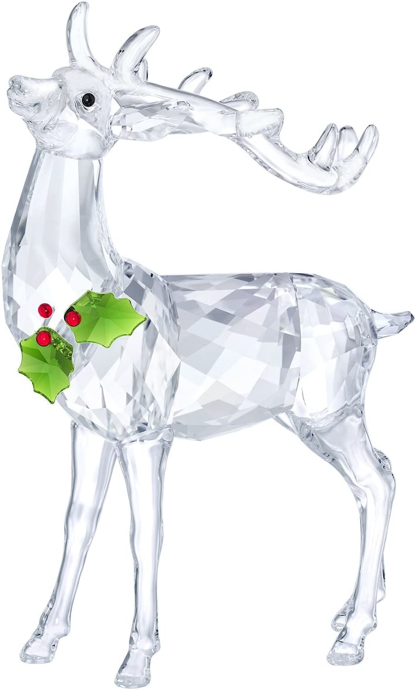 Swarovki Crystal Christmas Stag New 2018