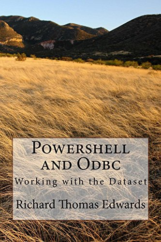 Amazon com: Powershell and Odbc: Working with the Dataset