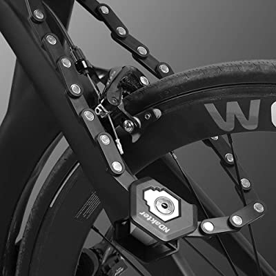 VARIPOWDER Bike Lock,Folding Bike Lock with Key Heavy Duty Anti-Theft Bike Bicycle Motorcycle Folding Lock with High Security Hardened Steel Metal