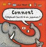 Comment l'éléphant barrit-il en japonais ?