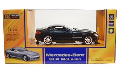GK Racer Series Mercedes-Benz SLR McLaren 1:24 Scale Radio Control (BLACK