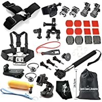 35-in-1 Outdoor Sports Camera Accessories Kit for GoPro Hero 1, 2, 3, 4